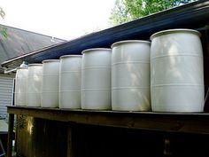 Rain Barrel System from ChiotsRun.com http://www.flickr.com/photos/chiotsrun/4435292435/