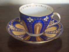 antique coalport victorian china cup and saucer