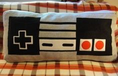 What better way to play video games than to rest your butt or tummy on a few video game pillows! Well, here are twelve pillows inspired by video games!