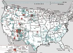 Maps Of Native American Tribes Indian Reservations In The United - Map of us indian reservations