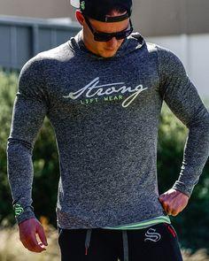 @strongliftwear FreeFlex Long Sleeve Tee- Hyper #fitness #gymwear www.strongliftwear.com