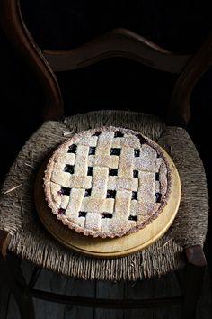 Tarta de arándanos rojos :: Brusinkový koláč :: Cranberry Tart