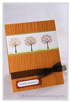 Love this embossing folder!
