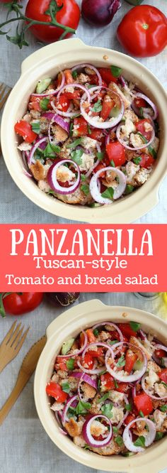 Panzanella is THE summer recipe. This Tuscan-style tomato bread salad is so simple and yet so delicious that it will certainly become of your favorites if you give it a chance. In a nutshell, panzanella is a poor dish, a leftovers recipe whose origin is …