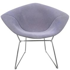 Harry Bertoia Diamond Lounge Chair for Knoll, circa 1950 1