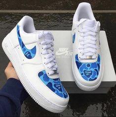 Custom Sneakers, Custom Shoes, Vans Sneakers, Nike Custom, Custom Af1, Sneakers Fashion, Sneaker Plug, Sneaker Heads, Custom Air Force 1