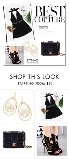 """""""romwe"""" by escalade1 ❤ liked on Polyvore featuring Ippolita and Chanel"""