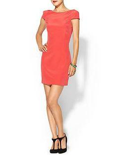 Tibi Silk Cap Sleeve Dress | Piperlime