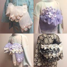 Yukata Kimono, Kimono Dress, Diy Dress, Fashion Belts, Kimono Fashion, Japan Fashion, Kawaii Fashion, Traditional Japanese Kimono, Japanese Style