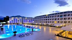 Hotel Daima Biz, Kemer, Antalya, Turcia Best Hotel Deals, Best Hotels, Cheap Hotels, 5 Star Hotels, Outdoor Pool, Outdoor Decor, Antalya, Front Desk, Terrace