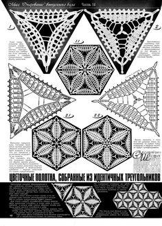*irish crochet motif