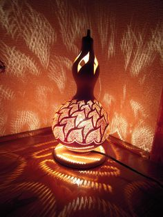 Gourd Lamps diy gourd lamp - naturally artistic lighting | patterns, gourd