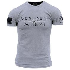 Violence of Action Men's T-Shirt