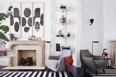 Living Room - Decor Ideas - Notting Hill - Modern Townhouse - Home Design Notting Hill, Top Interior Designers, Home Interior Design, Interior Styling, Modern Townhouse, Townhouse Designs, Style At Home, Blog Deco, Interior Design Inspiration
