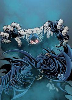 BATMAN vs BANE - Mike Deodato