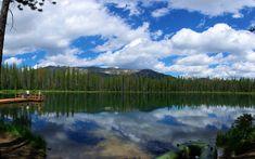 Martin Lake, next to Bull Trout Campground, Idaho, July 27, 2010 (Pentax K10 )