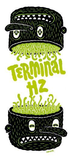 Michael Hacker Terminal Hz Tourposter