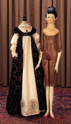 Старинные куклы как путеводитель по истории костюма - История костюма