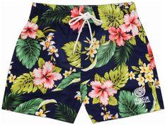 Men's beachwear boxer shorts