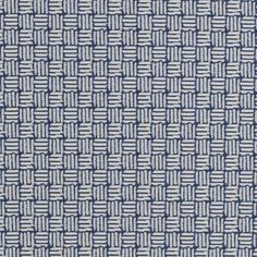 Remarkable navy basketweave decorating fabric by Duralee. Item 71113-206. Save…
