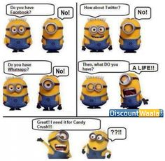 Minions are back with their Humor!!  #Minions #minionslove #troll #life #games