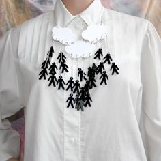 Sour Cherry - Its Raining Men Necklace, £40.00 (http://www.sourcherry.co.uk/its-raining-men-necklace/)