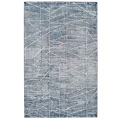 Erased Lines Wool Rug - Blue Lagoon — West Elm West Elm Rug, Julie, Contemporary Rugs, Blue Lagoon, White Area Rug, Rugs On Carpet, Carpets, Basket Weaving, Decoration