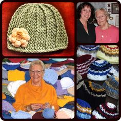 Crocheted Hats (Finding Purpose Through Crafting - from Clip With Purpose) -- great for an Operation Christmas Child shoe box!