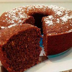 Bolo de Batata Doce com Aveia - Receita Natureba No Sugar Desserts, Oatmeal Cake, Gluten Free Oatmeal, Potato Cakes, Portuguese Recipes, Cake Recipes, Food And Drink, Tasty, Favorite Recipes