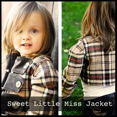 Sweet Little Miss Jacket   ShwinDesigns (Size: 6 month - Girl's 6) {Girl} [Purchase Pattern]