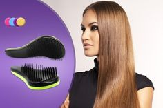 for a set of Secret Hair extensions with storage case and hair brush Detangling Hair Brush, Paddle Brush, Stoke On Trent, Things To Buy, Teeth, Your Hair, Colours, Hot, Beauty