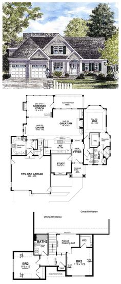 House Plan 94194 at FamilyHomePlans.com