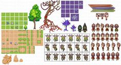 Top down Tiles - Blair Ceradsky's Pixel Art - Gallery - GameDev.net