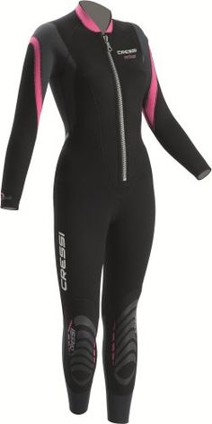 Cressi Bahia 2.5mm Women's Front Zip Full Wetsuit (Black/Pink, X-Large) Cressi-Sub http://www.amazon.com/dp/B001A1TGAS/ref=cm_sw_r_pi_dp_JTZ1tb16C90ANSAZ