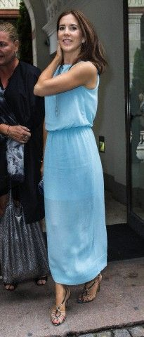 Soft dress, interestingly intricate shoes