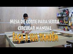 Mesa de corte para serra circular manual / Review. - YouTube