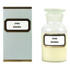 Gilded Apothecary Candle : Orange Blossom (CP)
