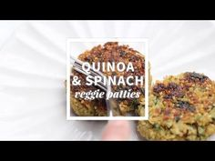 Spinach Quinoa Patties - Back to Her Roots