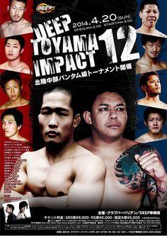 DEEP Toyama Impact 12 Fightcard