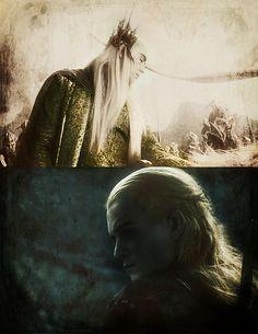Mae govannen, Legolas Thranduilion. 'Welcome Legolas, son of Thranduil.'