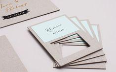 N wedding invitation by LSDK , via Behance