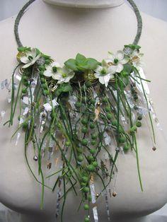 4. textural necklace - unusual design for bridesmaid £65