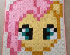 blanket pony granny squares – Etsy CA