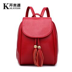 Women Backpack 2016 New Arrival High Quality Youth Leather Backpacks For Teenage Girls School Shoulder Bag Bagpack Mochila     Tag a friend who would love this!     FREE Shipping Worldwide     Get it here ---> http://onlineshopping.fashiongarments.biz/products/women-backpack-2016-new-arrival-high-quality-youth-leather-backpacks-for-teenage-girls-school-shoulder-bag-bagpack-mochila/