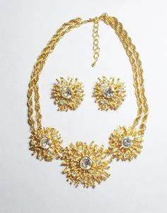 Kenneth Jay Lane Regal Riches Necklace Set for by SCLadyDiJewelry
