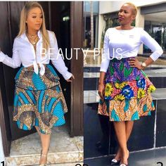 This African print skirt for women is a beautiful skirt. Production takes – African Fashion Dresses - 2019 Trends African Print Skirt, African Print Dresses, African Print Fashion, Africa Fashion, African Dress, African Women Fashion, African Prints, African Fabric, Ladies Fashion