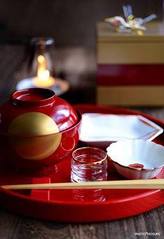 "Japanese ""omotenesi"" table setting"