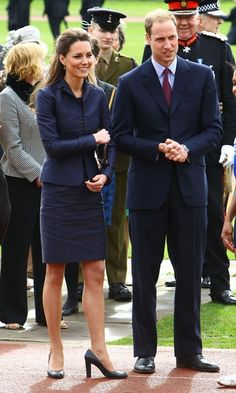 Prince William and Kate Middletons last pre-wedding event