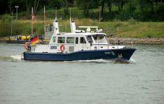 WSP 5  Wasserschutzpolizei NRW auf dem Rhein bei Bonn-Beuel - 01.08.2005