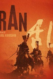 Ran (1985): A Kurosawa classic. The life of three sons of a Japanese warlord . Tatsuya Nakadai as Lord Ichimonji is amazing. Very powerful acting. The movie is long at more than 2.5 hours and it might seem a little slow, but the settings, sound and cinematography are worth watching